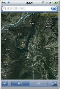 武定己衣乡卫星地图