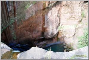 武定水城河风景区彪水岩瀑布
