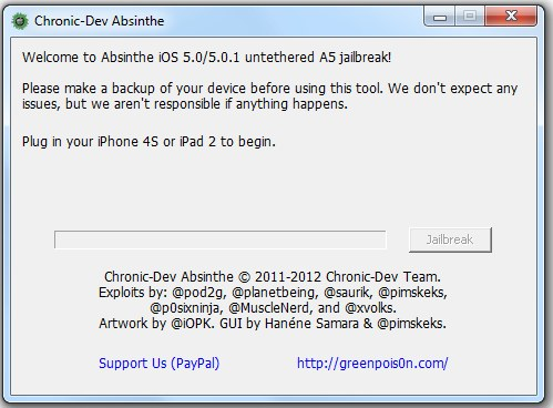 Go Jailbreak your iPhone 4s and iPad 2 NOW