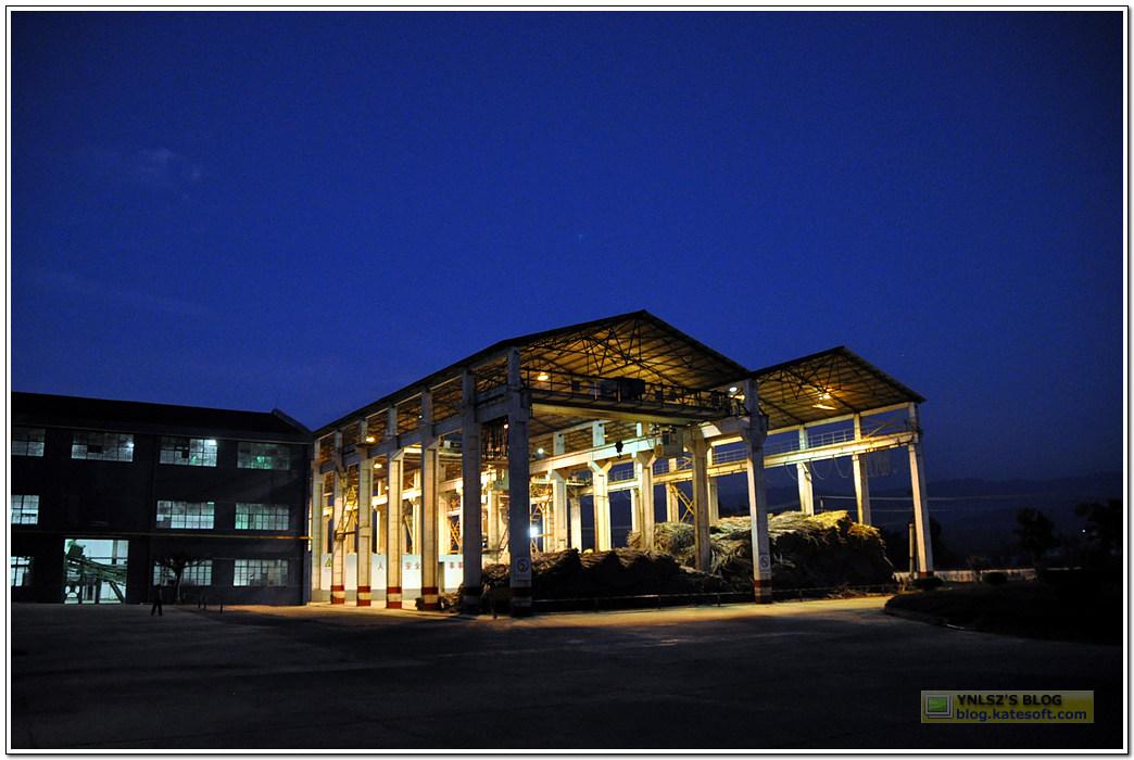 云南糖厂夜景