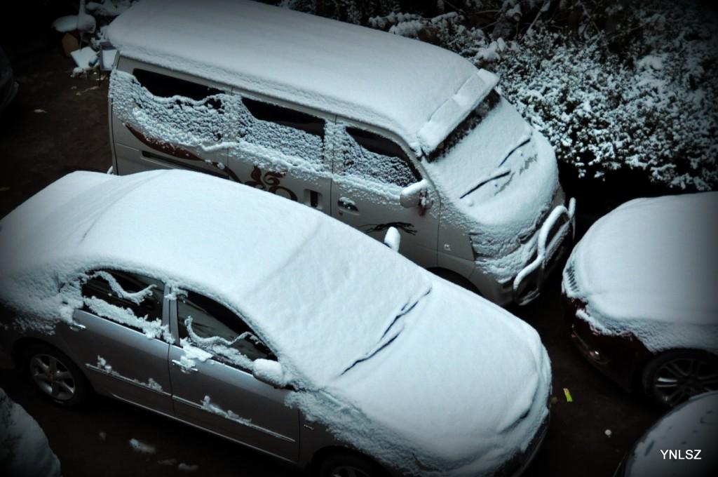 2013年昆明雪景 Nikon D90 拍摄